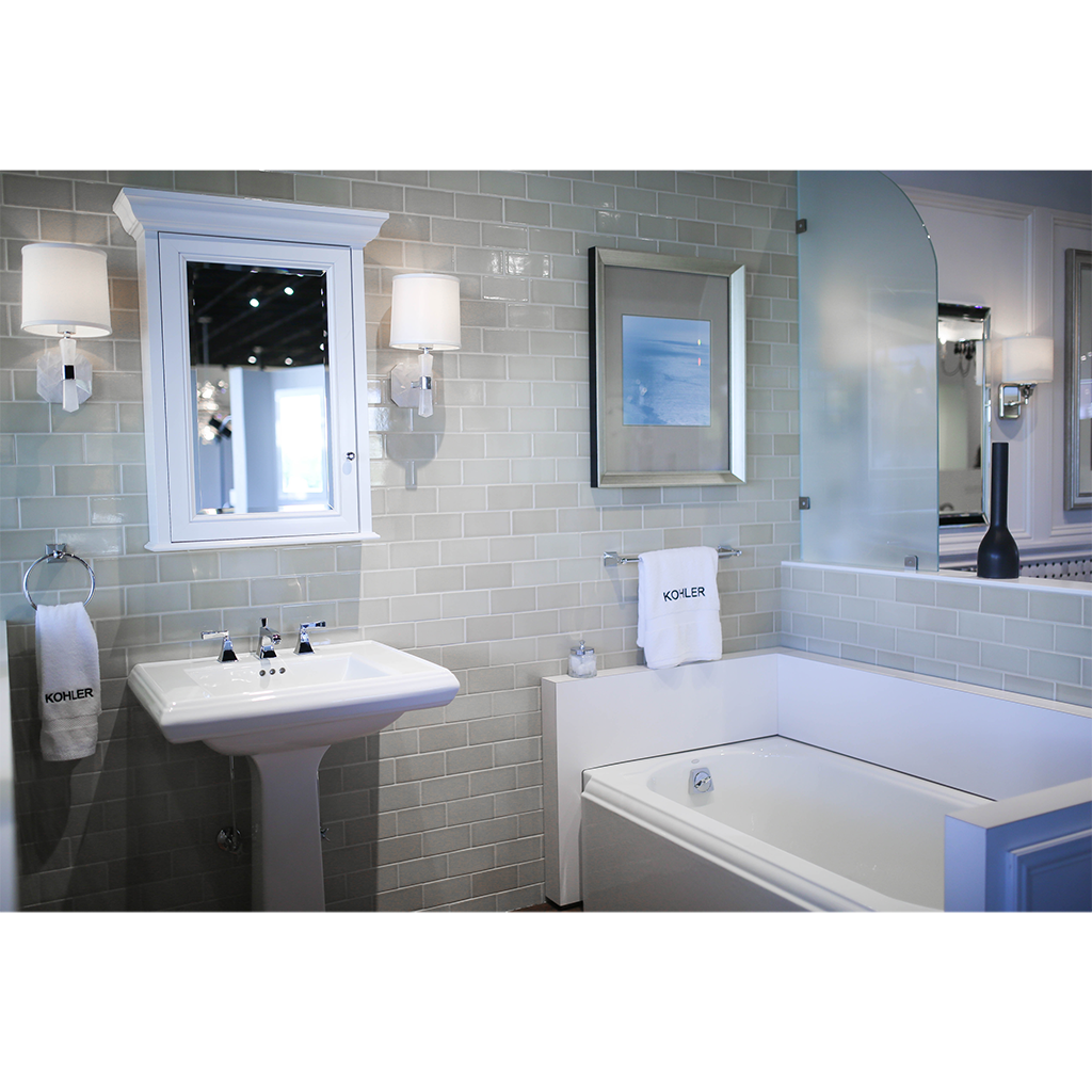 Kohler bathroom kitchen products at pdi kitchen bath for Bathroom showrooms
