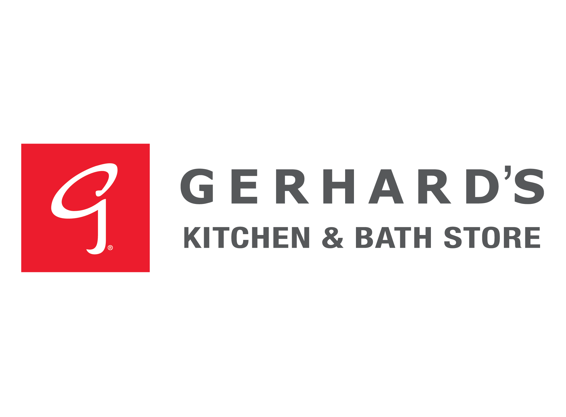 Logo For Gerhardu0027s Kitchen U0026 Bath Store