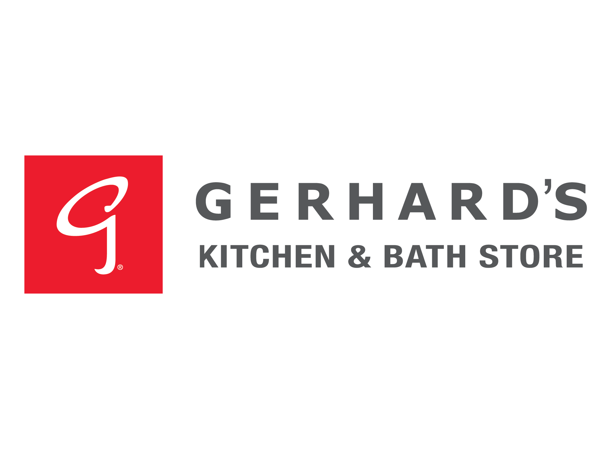 Logo for Gerhard's Kitchen & Bath Store