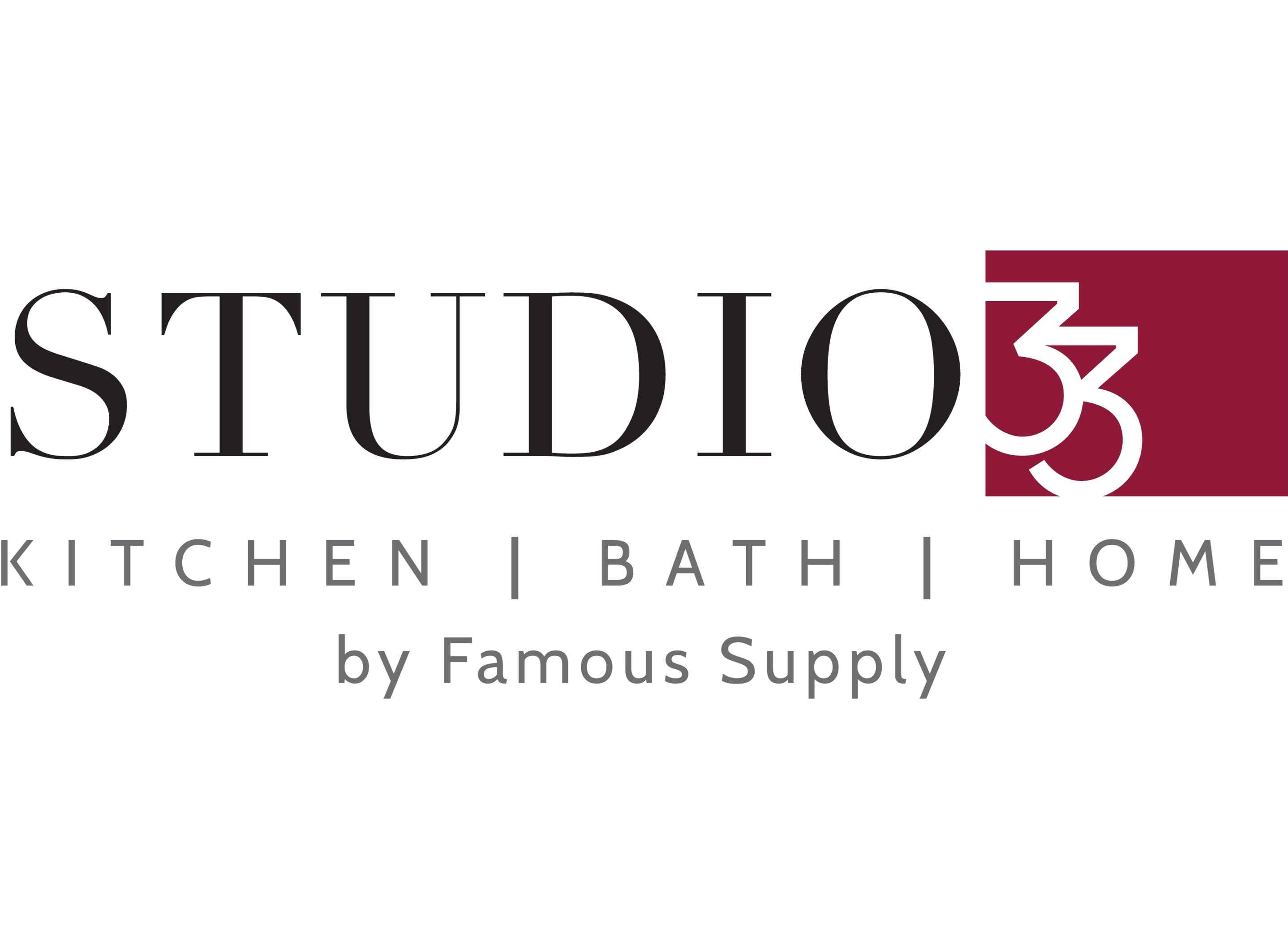Logo for Studio33 by Famous Supply
