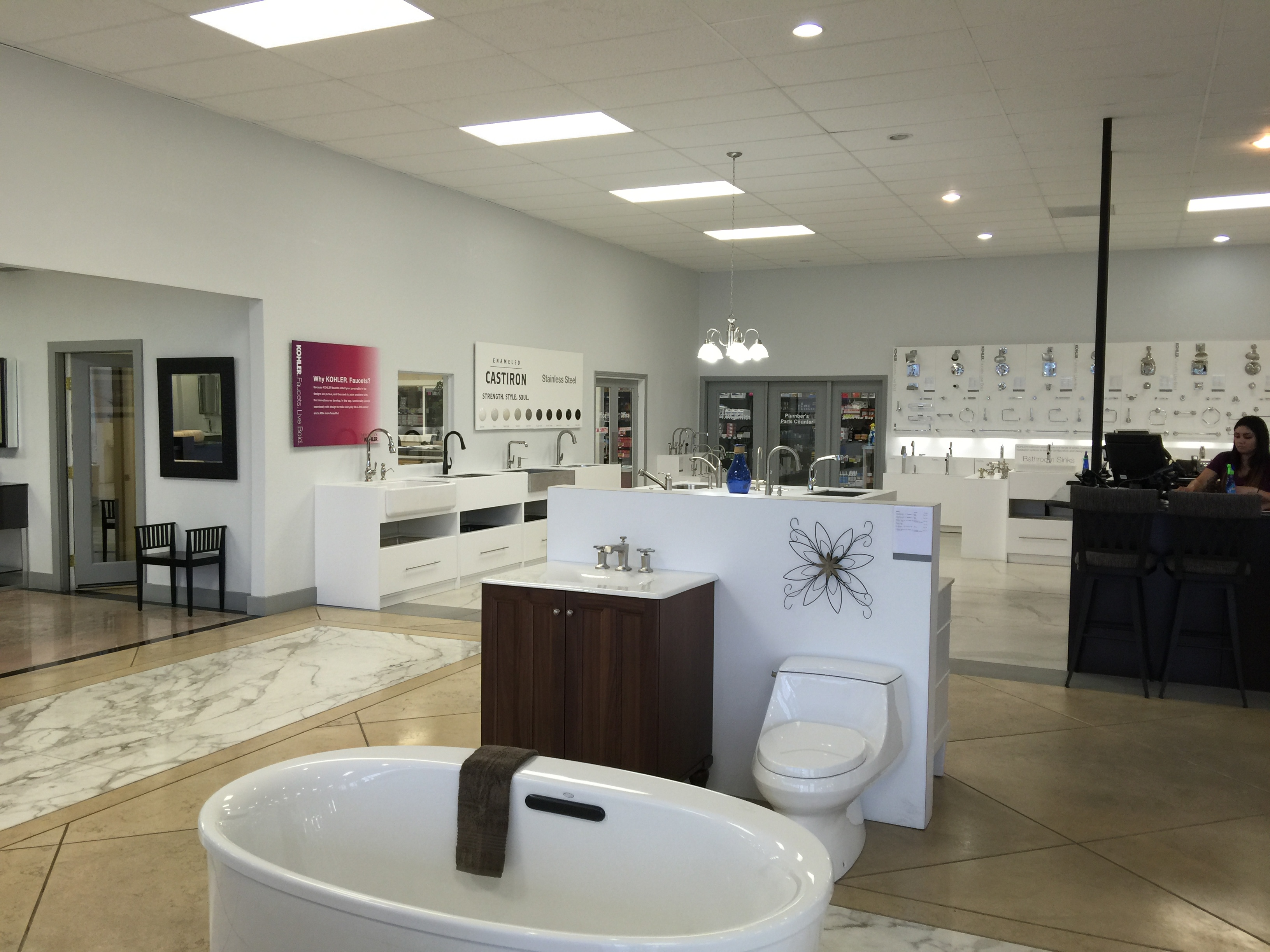 KOHLER Bathroom & Kitchen Products at Standard Plumbing Supply in ...