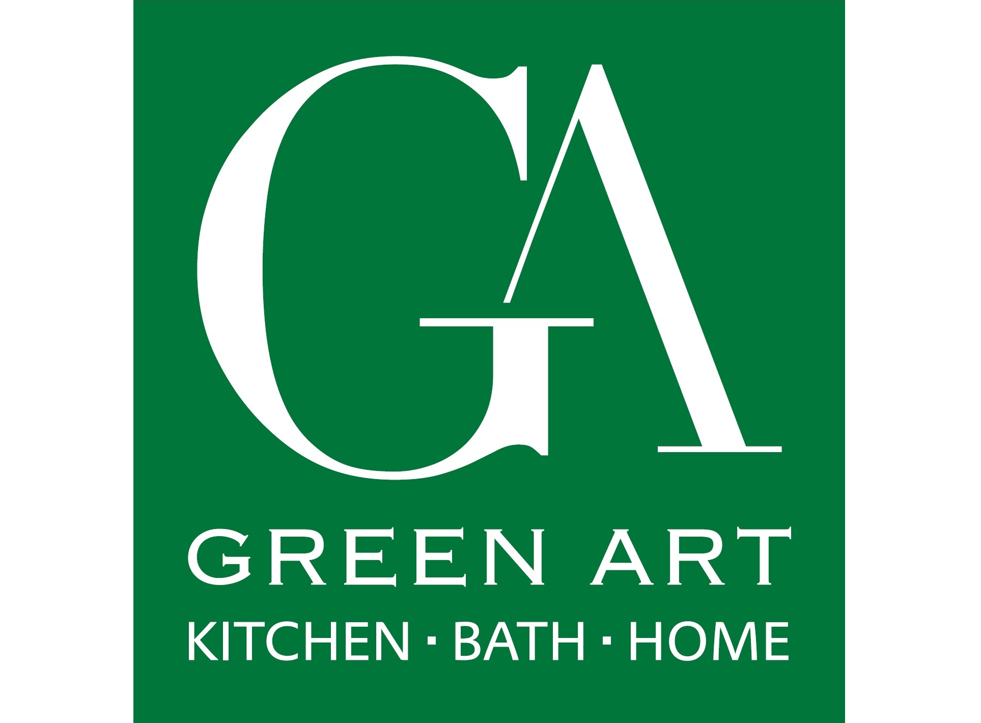 Logo for Green Art Plumbing Supply - Kitchen Bath Home