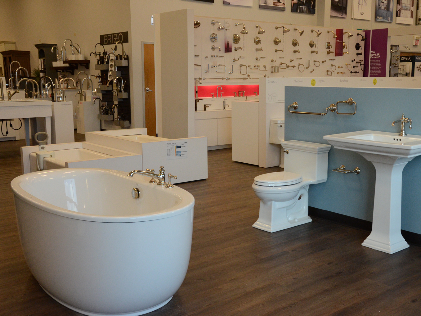 KOHLER Bathroom & Kitchen Products at Crawford Supply in Mokena, IL