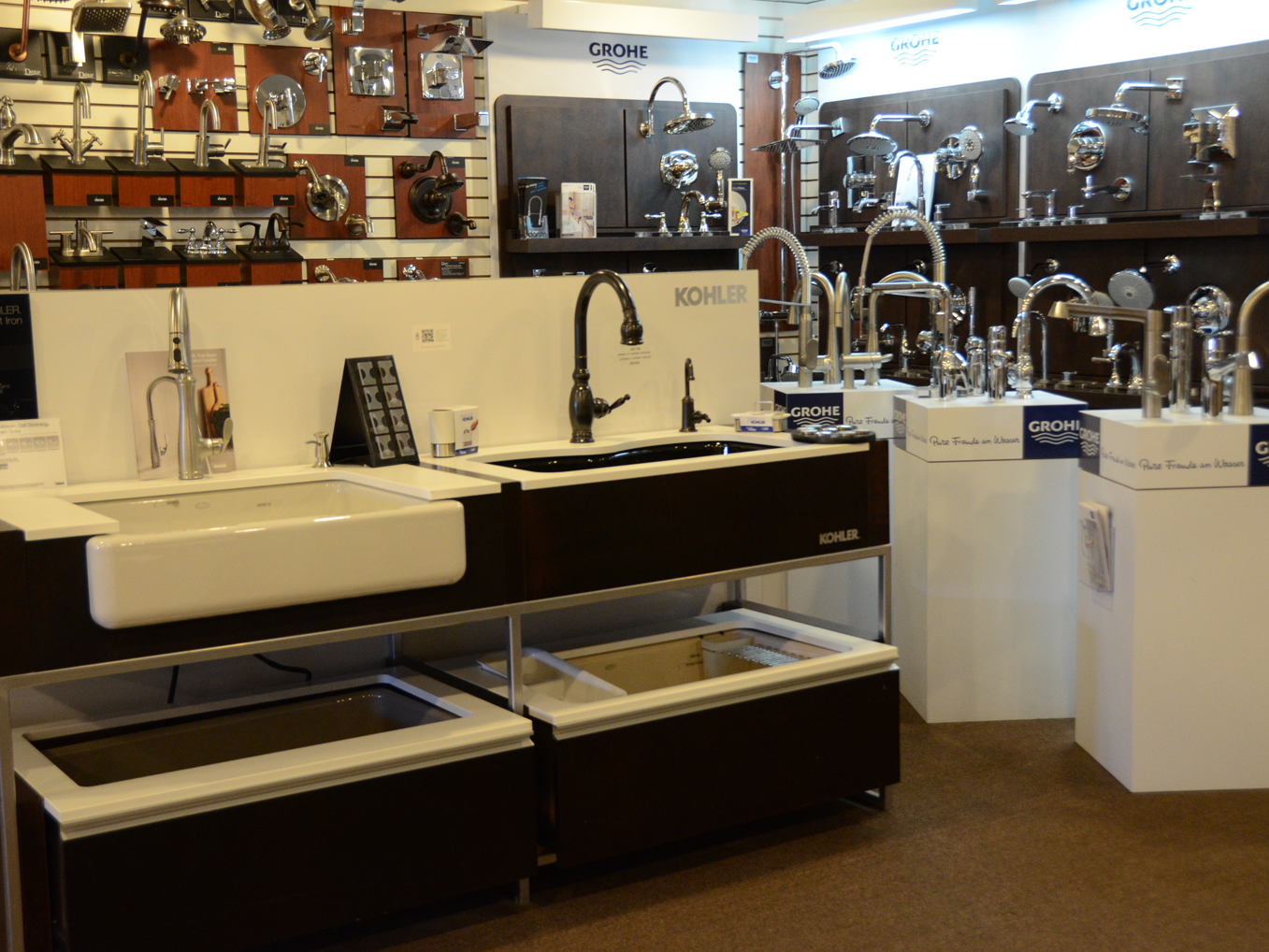 KOHLER Kitchen & Bathroom Products at Builders Plumbing & Heating ...