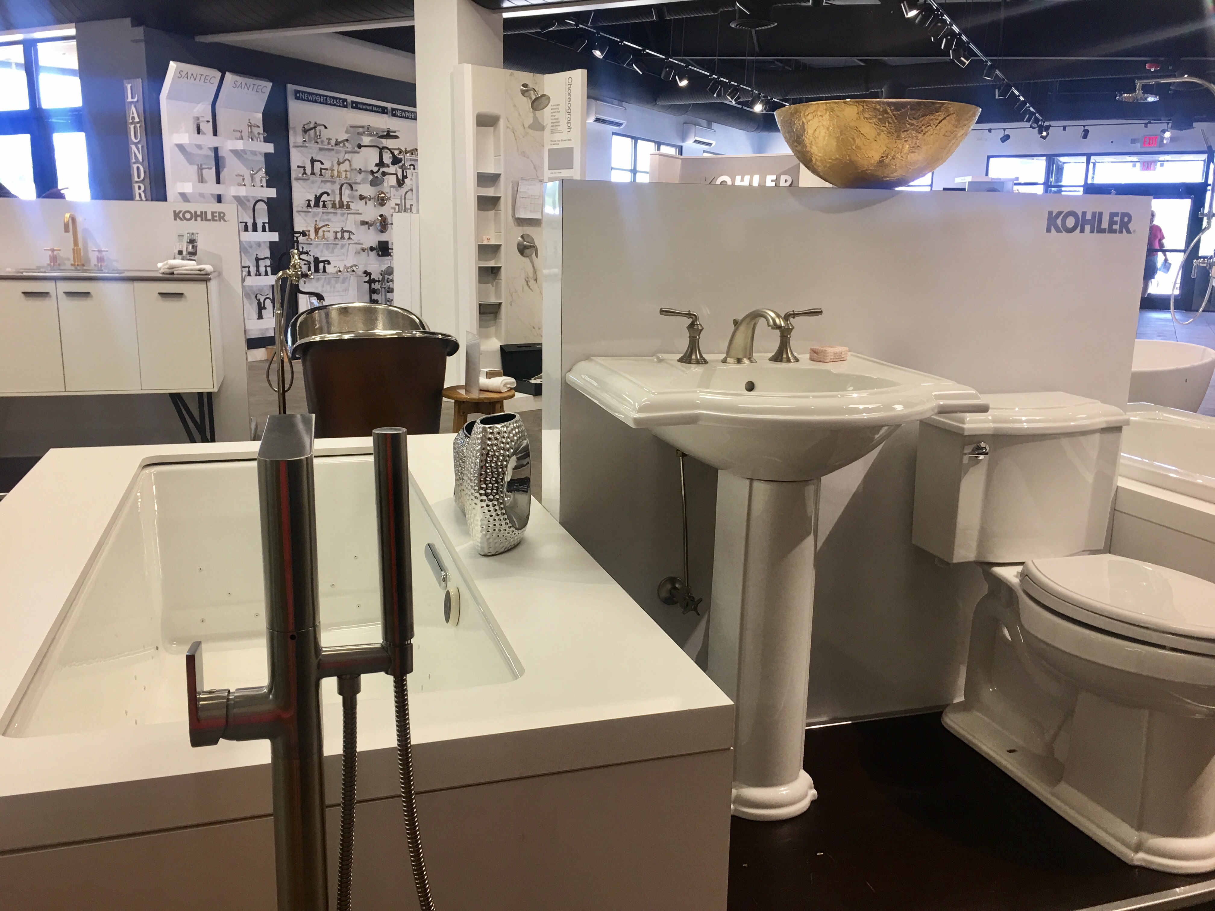 Bathroom Showrooms Greenville Sc kohler bathroom & kitchen products at gateway supply co. in