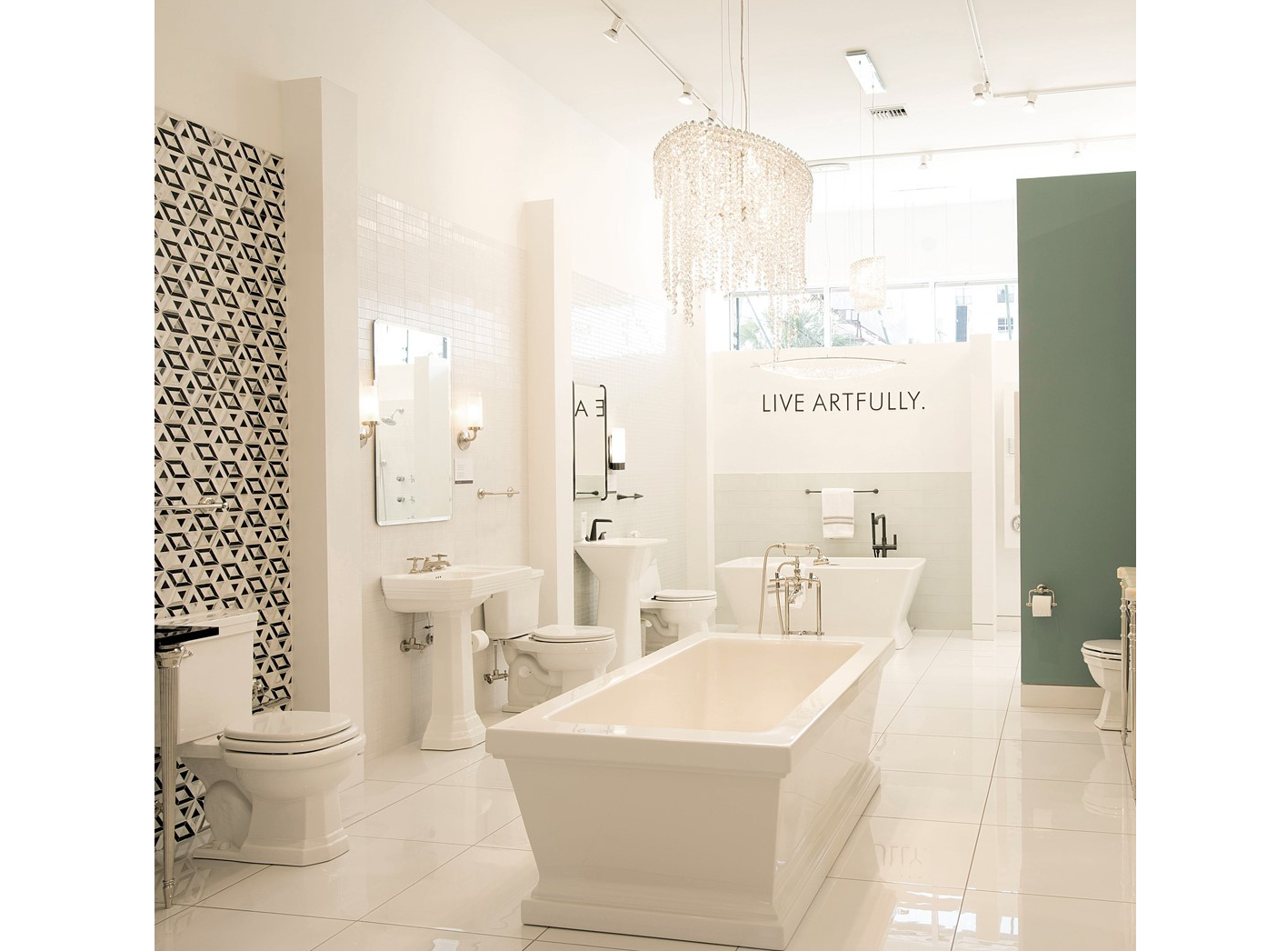 KOHLER Kitchen & Bathroom Products at Blackman Showroom - Bohemia in ...