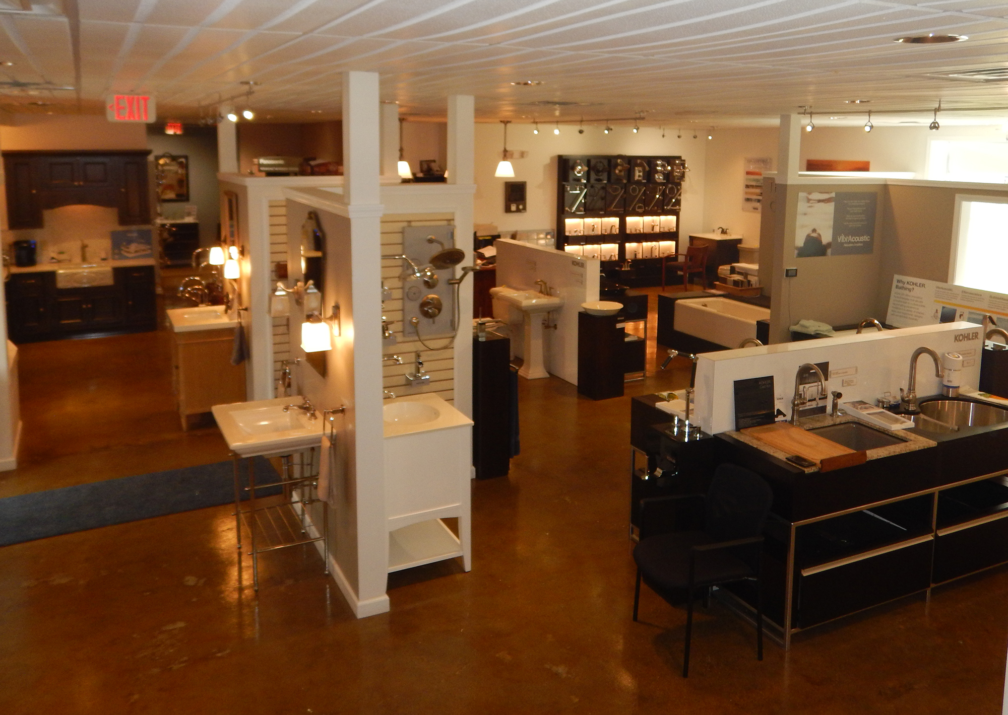 KOHLER Kitchen & Bathroom Products at Bath Expressions Showroom at ...