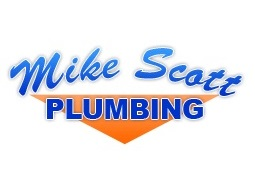 Logo for Mike Scott Plumbing Showroom