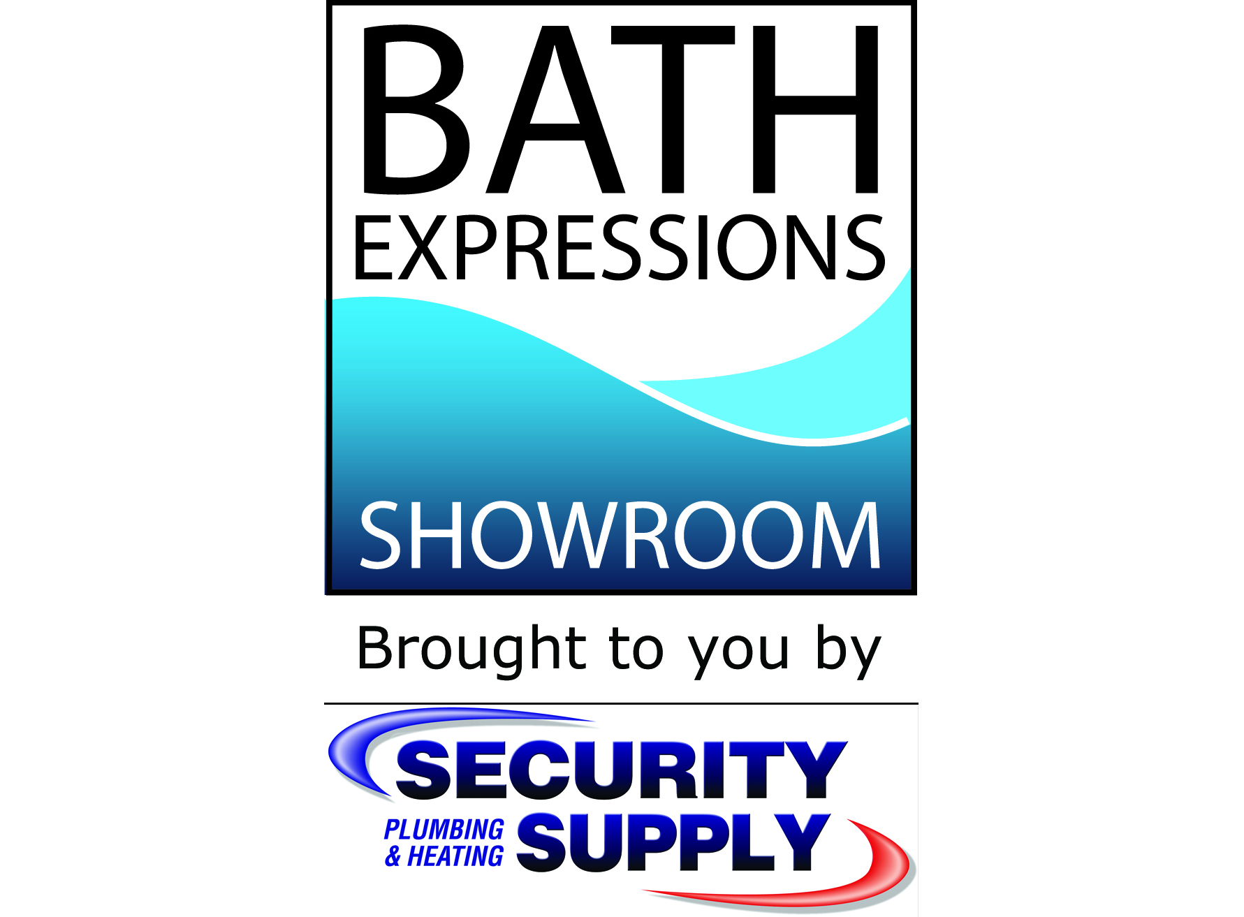 Logo for Bath Expressions Showroom at Security Supply