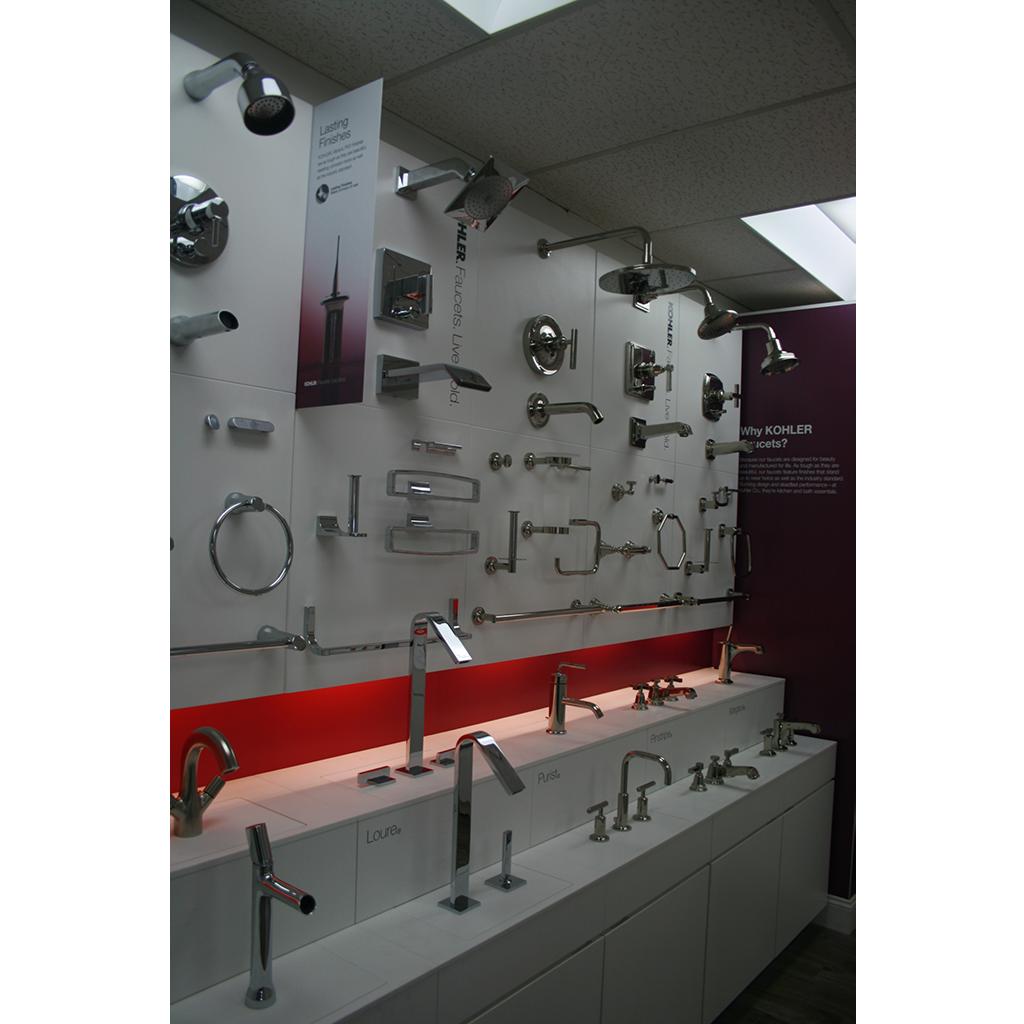 Kohler bathroom kitchen products at general plumbing
