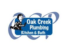 Logo for Oak Creek Plumbing Kitchen & Bath