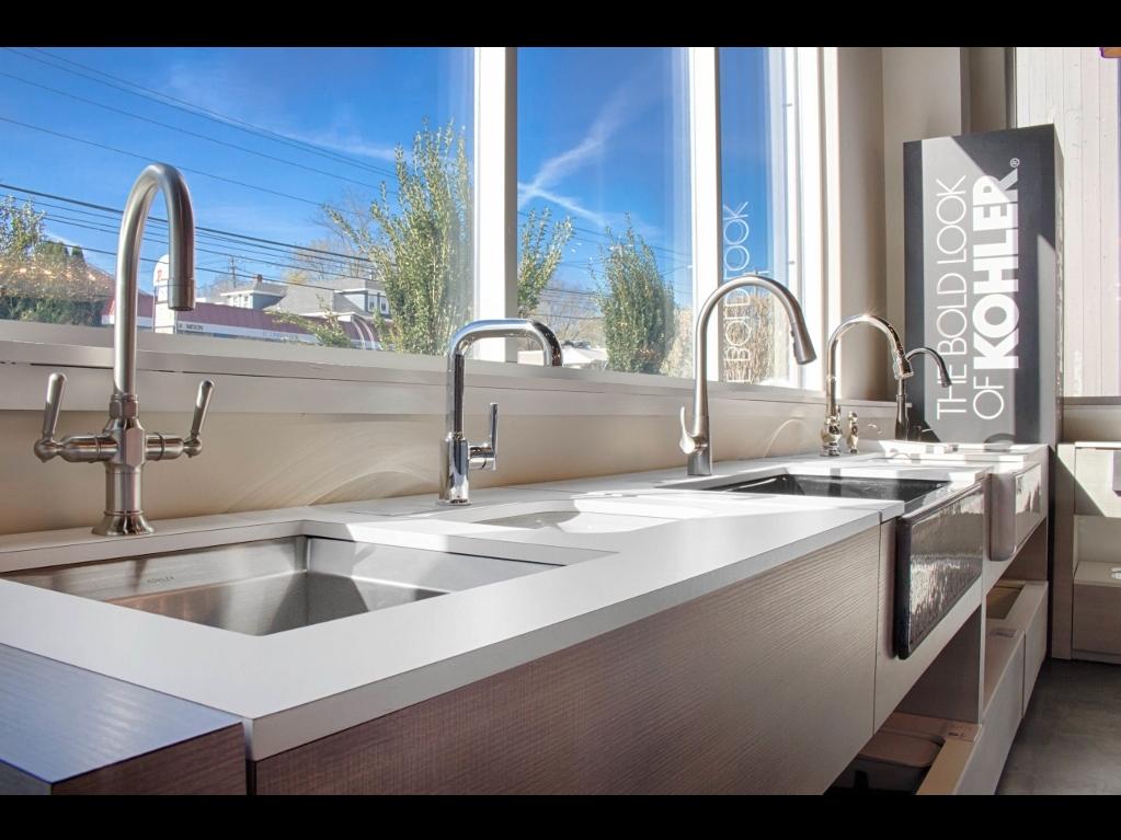 kohler kitchen bathroom products at bender in norwalk ct rh bendershowroomnorwalk com Ferguson Bath Kitchen Showroom Locations Kitchen and Bath Remodeling