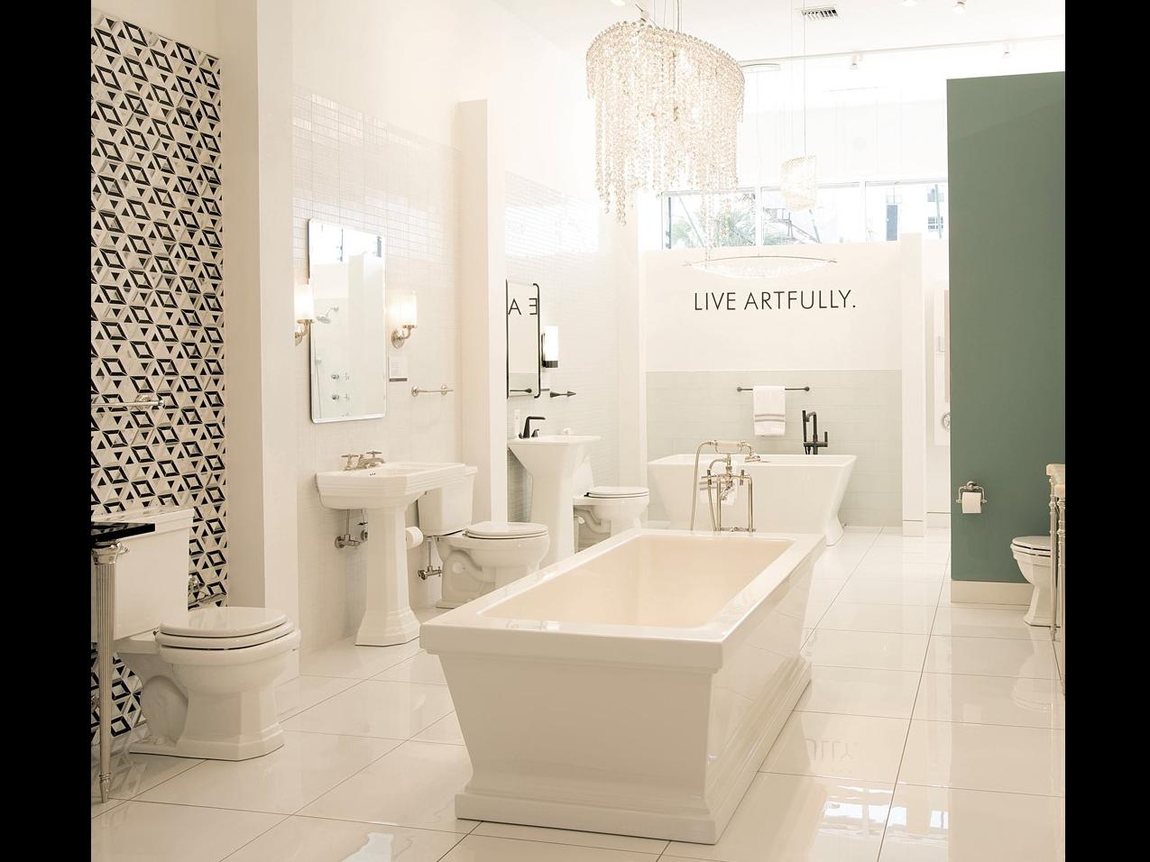 KOHLER Kitchen & Bathroom Products at Blackman Showroom in Mineola, NY