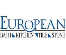 Logo For European Bath, Kitchen, Tile U0026 Stone